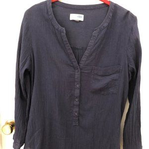 Old Navy Pre-faded Crinkle Cotton Tunic Size M